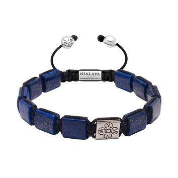 The Dorje Flatbead Collection - Blue Lapis and Silver
