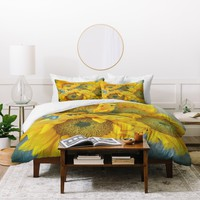 Lisa Argyropoulos Sunny Disposition Duvet Cover