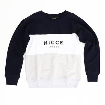 NICCE London Manor Sweat in Navy