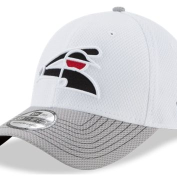 Men's Chicago White Sox New Era White/Gray Two-Tone Rapid 39THIRTY Flex Hat