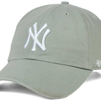 New York Yankees '47 MLB Gray White '47 CLEAN UP Cap