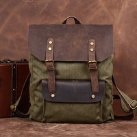 YUANGU Men and women retro package. Canvas+leather. High-quality products YG202