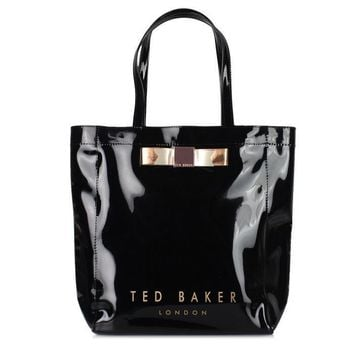 Ted Baker Women Shopping Leather Handbag Tote Satchel bag-1
