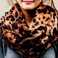 Leopard Cheetah Large Scarf ABADBJ