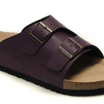 Birkenstock Z¨¹rich Sandals Artificial Leather Purple - Ready Stock