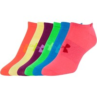Under Armour Women's No Show Liner Sock 6 Pack