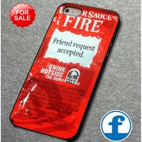 Taco bell sauce packet for iphone, ipod, samsung galaxy, HTC and Nexus Phone Case