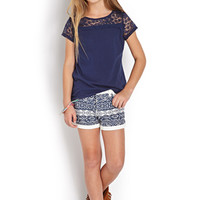 Boho Doll Denim Shorts (Kids)