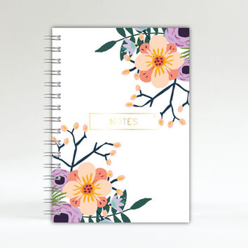 Monthly Planner - College Planner - 2016-2017 Planner - A5 Notebook - 2016 Planner - Planner - Notebook - Journal - 2016 diary