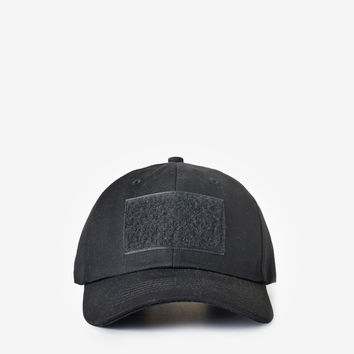 Velcro Patch Cap in Black