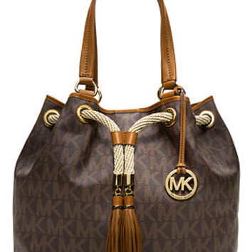 MICHAEL Michael Kors Handbag, Jet Set Item Marina Large Gathered Tote