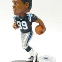 Carolina Panthers Steve Smith Forever Collectibles Black Base Edition