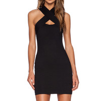 Motel Devora Dress in Black