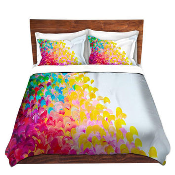 RAINBOW Fine Art Rainbow Duvet Covers, King Queen Twin Creation Color Ombre Home Decor Bedding Children, Adult, Home Decor Colorful Bedroom