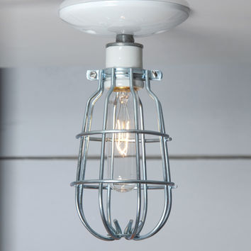 Ceiling Mount Cage Light