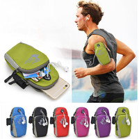 Universal Case for iphone 7 Plus 6 6S Plus for Samsung Galaxy Note 7 5 4 S6 S7 Edge Running Nylon Sport Arm Band Bag Accessories