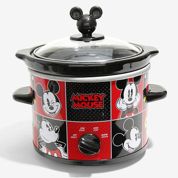 Disney Mickey Mouse Two Quart Slow Cooker