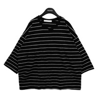 Oversized Slim Stripe Shirt