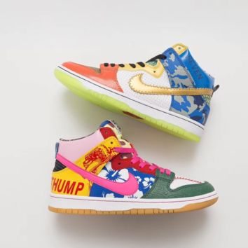 "Nike SB Dunk High ""What The Doernbecher""  Sneakers"