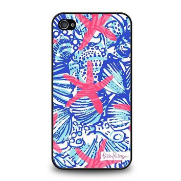LILLY PULITZER PRETTY ESCAPE iPhone 4 / 4S Case Cover
