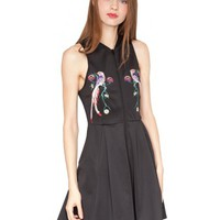 Neoprene bird dress