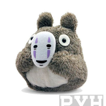 Studio Ghibli - My Neighbor Totoro - Totoro with mask- 4-Inch Plush