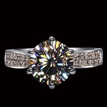 Engagement Rings For WomenJewelry Making Supplies Genuine 925 Sterling Silver Jewelry