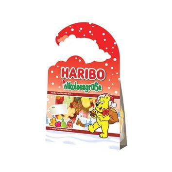 Haribo Holiday Greetings Door Hanger, 3.5 oz (100 g)