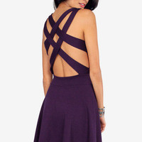 Double Cross Skater Dress $33