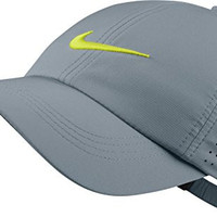 Nike Golf Youth Perforated Hat - Dove Grey/Volt