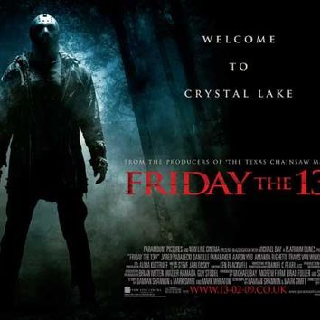 Friday the 13th (UK) 30x40 Movie Poster (2009)