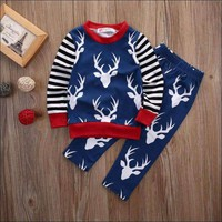 Newborn Kids Baby Boy Fashion Clothes Set