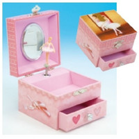 "Music Box Kingdom Ballerina Jewellry Box ""Fur Elise"""