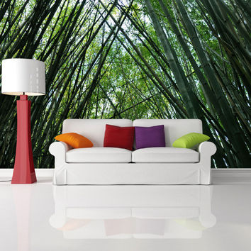 Wall Mural Decal Sticker Bamboo #MMartin101