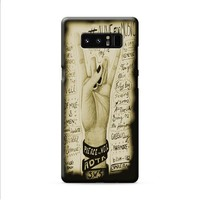 Alive For Music Samsung Galaxy Note 8 case