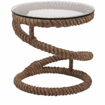 IMAX Exclusive Bedford Jute Rope Accent Table