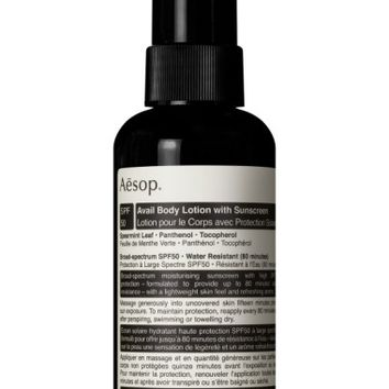 Aesop Avail Body Lotion with Sunscreen | Nordstrom
