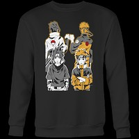 Naruto - Naruto and Sasuke Best Friend - Unisex Sweatshirt T Shirt - TL01141SW