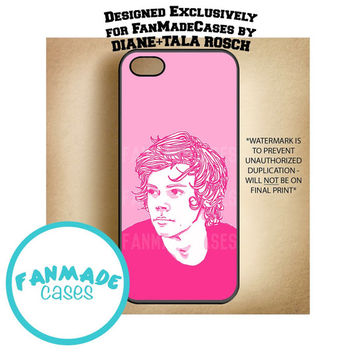 Pink Styles iPhone 4/4s/5/5s/5c/6/6 Plus, iPod 4/5, Samsung Galaxy s3/s4/s5 Rubber Case by FanMadeCases
