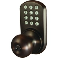 Morning Industry Inc Touchpad Electronic Doorknob (oil Rubbed Bronze)