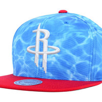 Houston Rockets NBA Big Wave Snapback Cap
