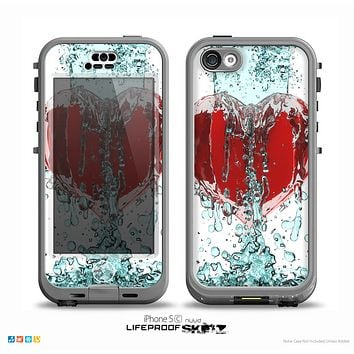 The Drenched 3D Icon Skin for the iPhone 5c nüüd LifeProof Case