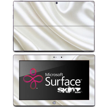 White Silk Skin for the Microsoft Surface