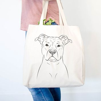 Jethro the American Staffordshire Terrier - Tote Bag