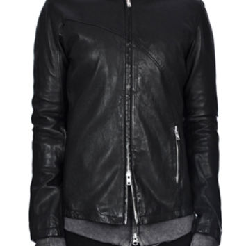 LENTRIAN | FITTED LAMB LEATHER JACKET