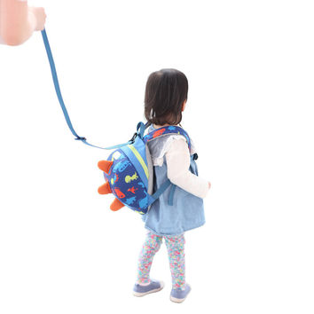 Cartoon Baby Harness Backpack Leash Safety Anti-Lost