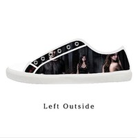 Custom The Vampire Diaries Women's Canvas Shoes Fashion Shoes for Women
