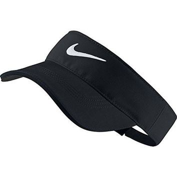 Nike Golf Tech Visor (Variety Of Colors Available) (Black)