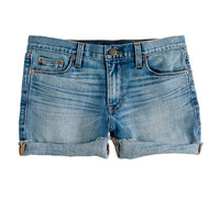 Denim short in patina wash