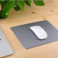 300*240mm Frosted Matte Slim Aluminum Mouse Pad PC Computer Skid Laptop Gaming Mousepad for Apple For MackBook